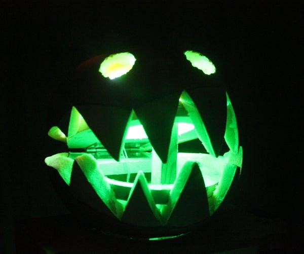 Drill Powered Halloween Snap-O-Lantern