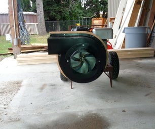 Insulation Vacuum (Homemade Commercial Blower)
