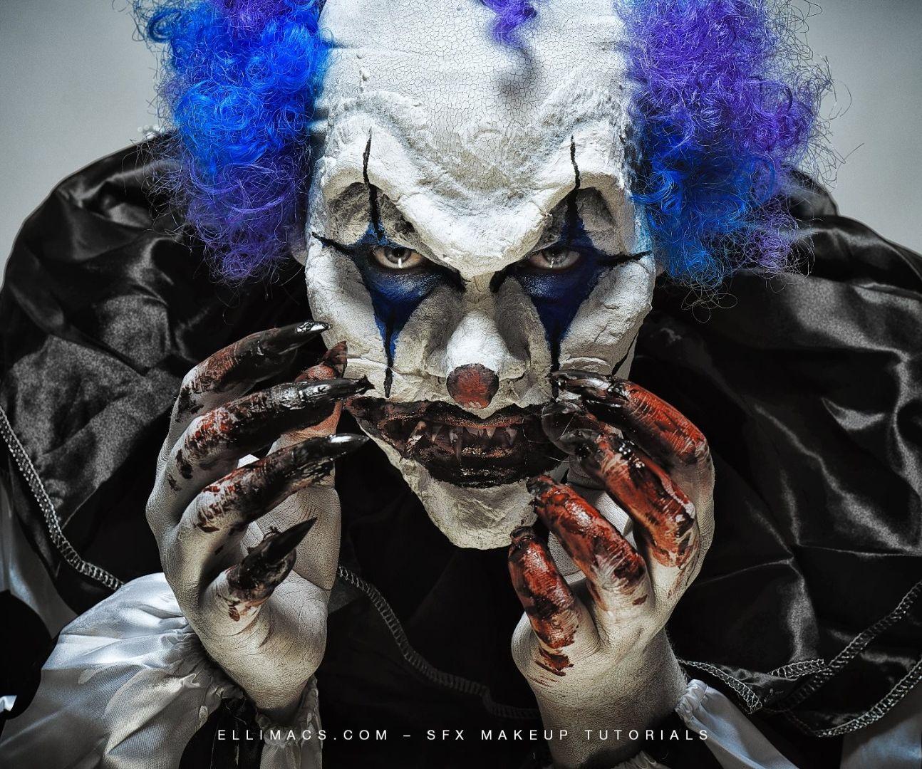 Nightmare Clown - SFX Makeup Tutorial