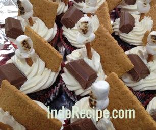 Double Cream S'mores Cupcakes