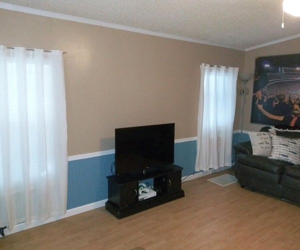 Entertainment Center and Side Table