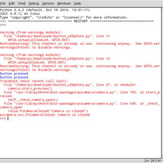 GPIOs + More Python