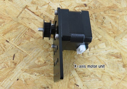 Assembly of X-axis / Y-axis Motor