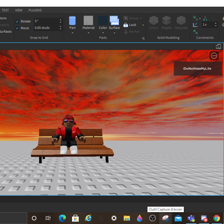How to Make a Couch on Roblox