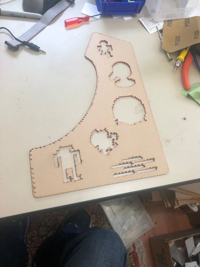 Left and Right Outside Panels & Inlays