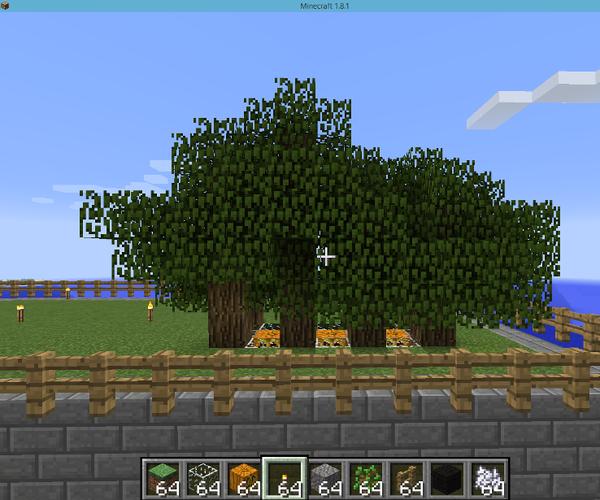 Minecraft - Compact Tree Farm