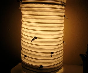 Zipper Lamp