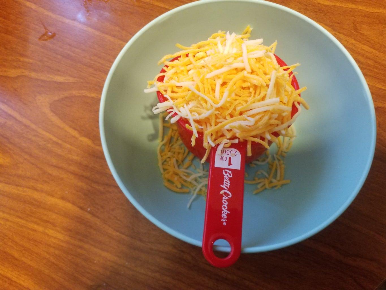 Step 8: Add the Shredded Cheese