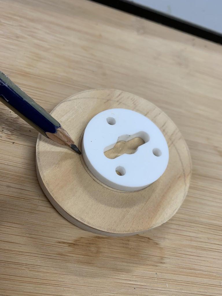 Plastic Bracket + Drilling Holes