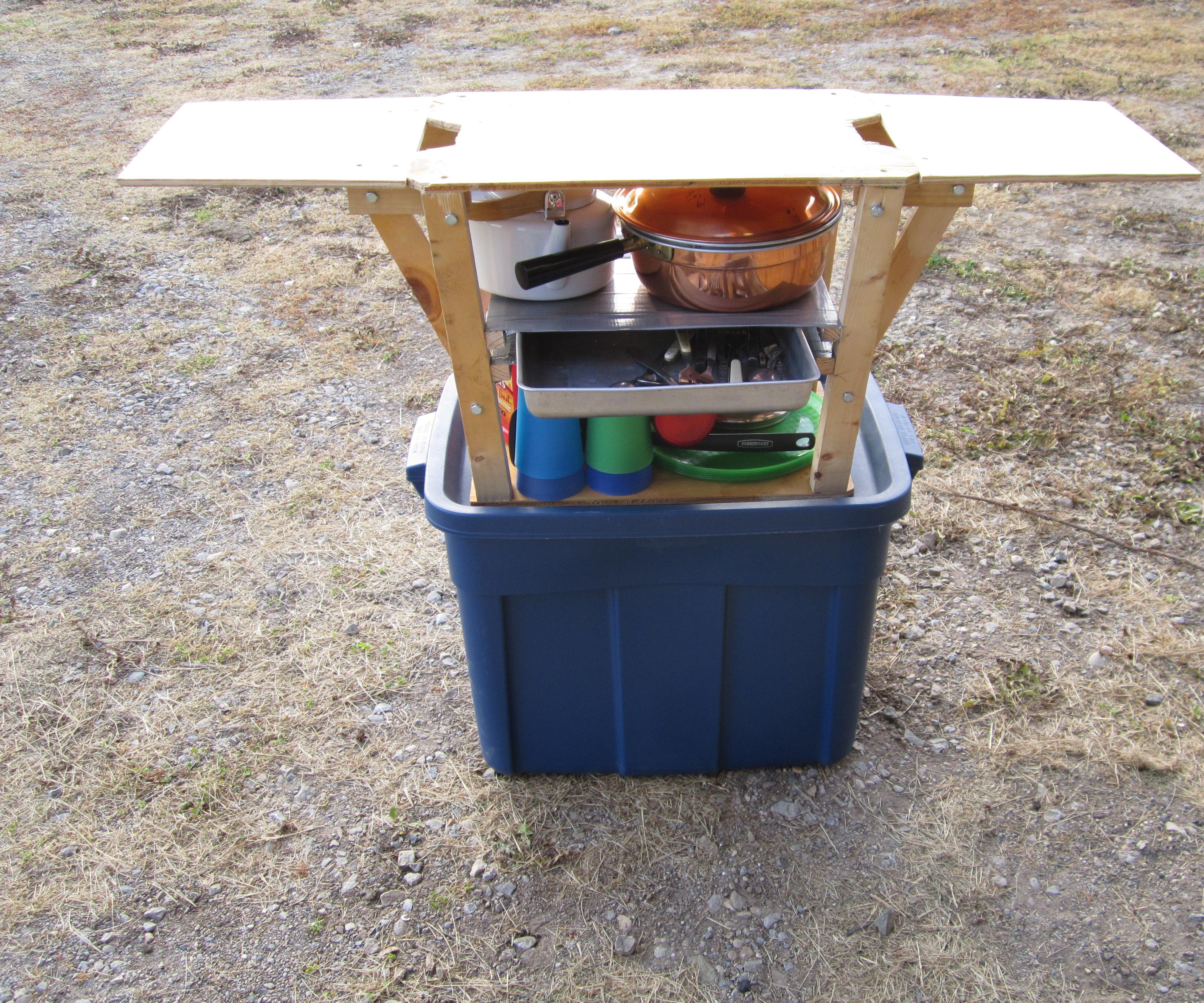 YACK BOX (Yet Another Camp Kitchen)
