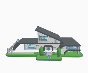 Modern House Model (scene)