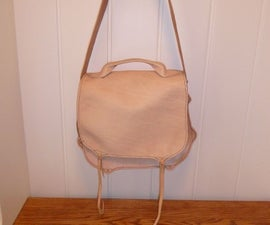 Make a Leather Field Bag