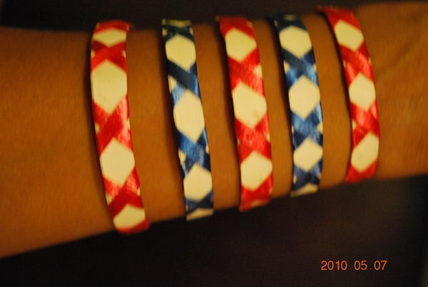 Kids Bracelet From a Coffee Cup
