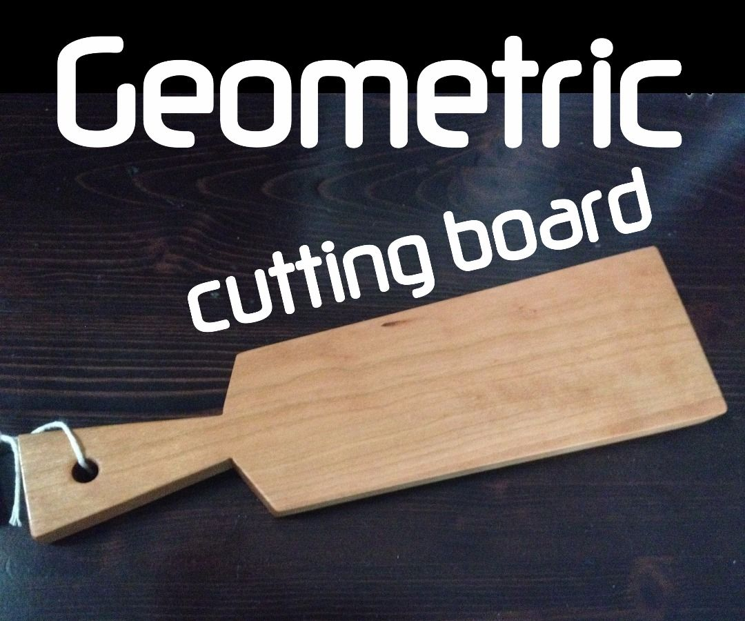 Small Geometric Cutting Boards With Only a Tablesaw