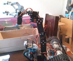 Robotic Arm for Autonomous Tank
