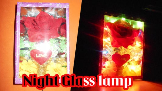 Night Glass Lamp