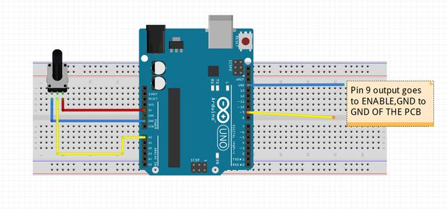 Testing Code for PWM (using Arduino)
