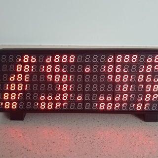 7 Segment Display Array