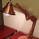 Wooden Architect Lamp