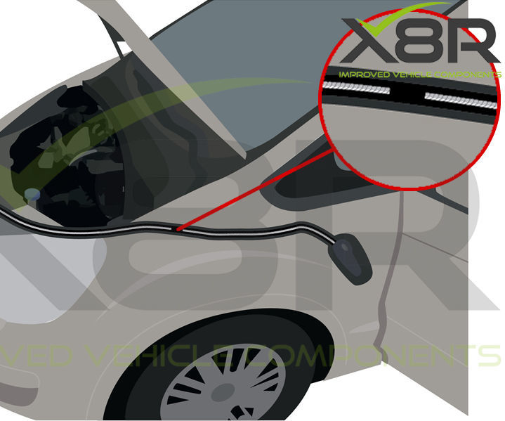 Ford Mk4 Mondeo Galaxy S-max Broken Snapped Bonnet Release Cable Fix Inner Repair Kit Stainless Steel New Replacement Instructions Install Guide
