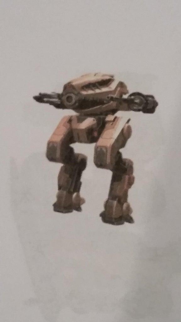 Simple K'nex War Robots Destrier
