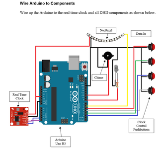 Construction - Wire Arduino to Components