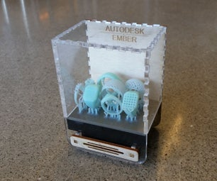 Ember Build Head Display Case