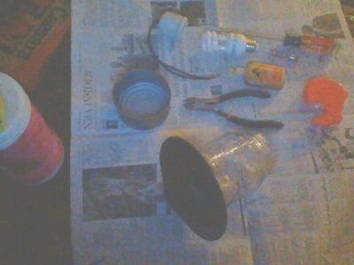 Gathering Supplies and Preparation Work