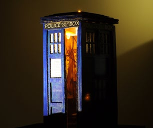 Small Tardis That's Bigger on the Inside