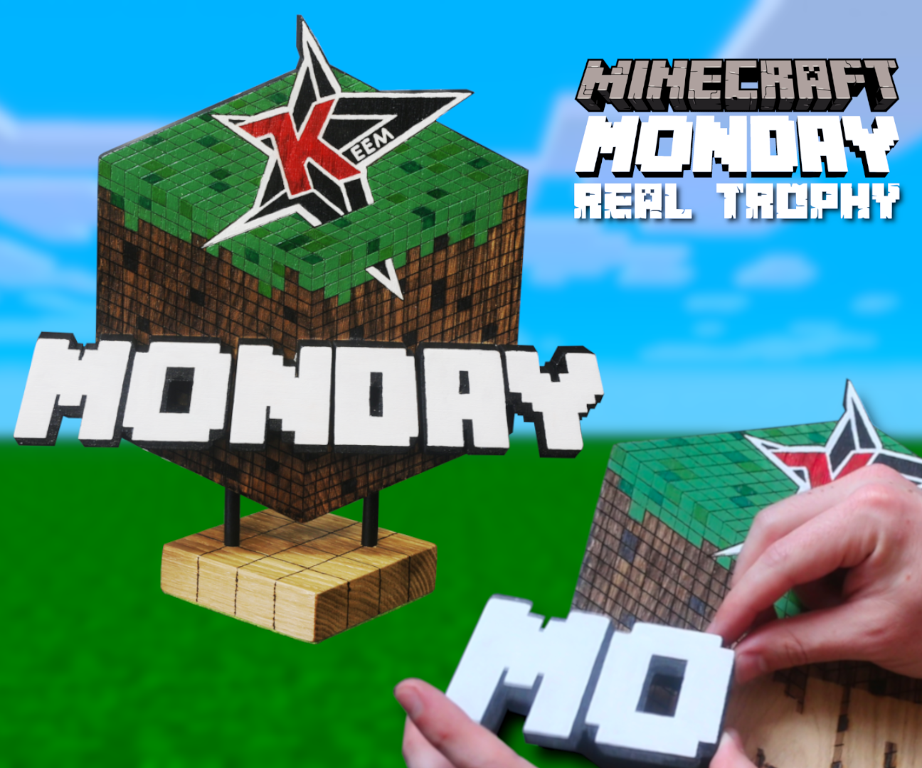 The Minecraft Monday Trophy