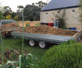 Three Trailers in One - Box, Car and Flat Top.   the Box Top Trailer.
