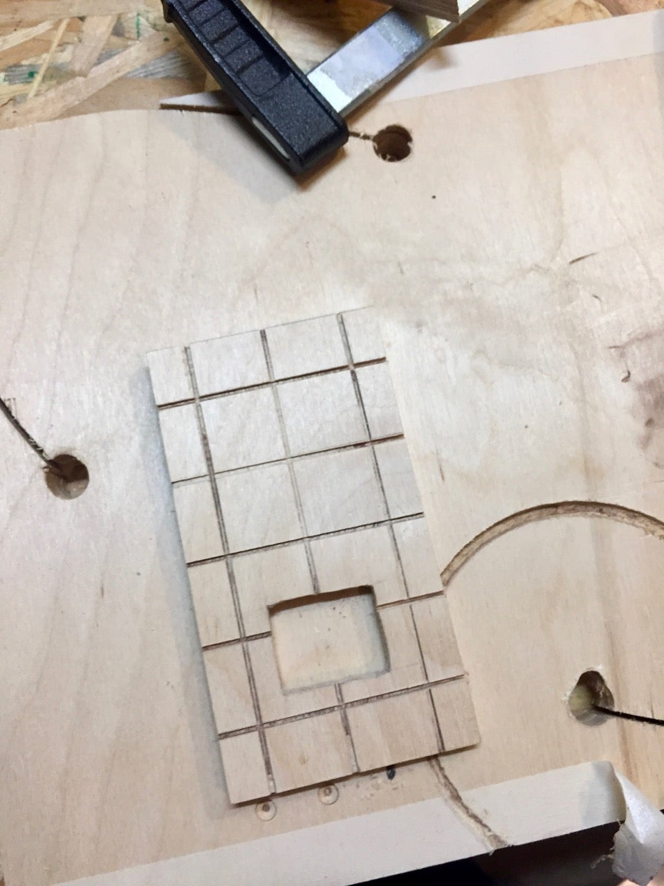 The Oven Body - Shaping the Tiles