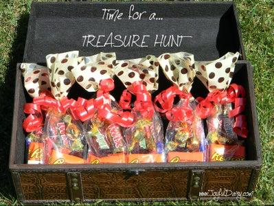 HOW TO PLAN a FUN TREASURE HUNT