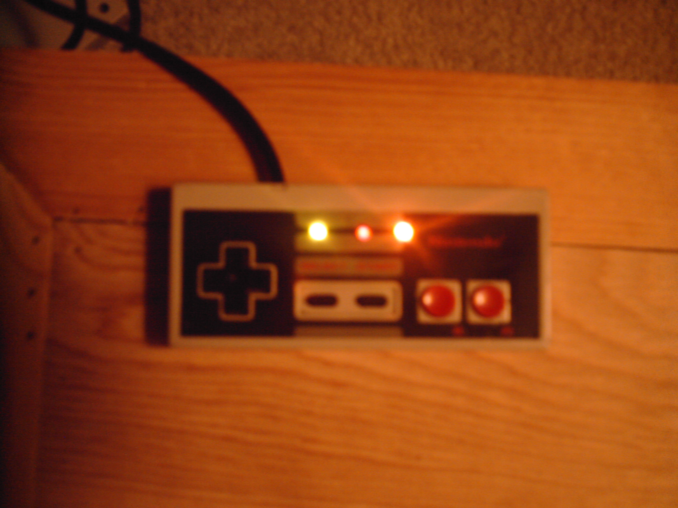 add Leds to a Nes controller
