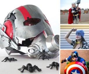Homemade Superhero Costumes