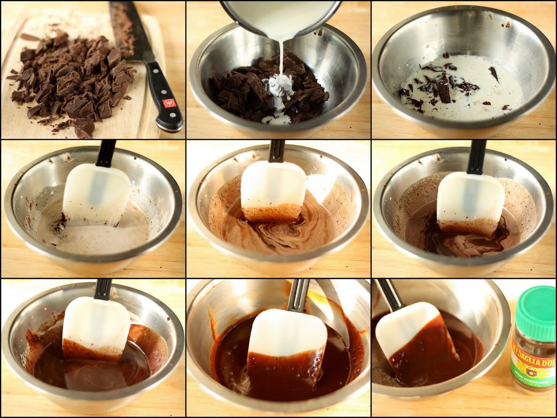 Making the Chocolate Ganache