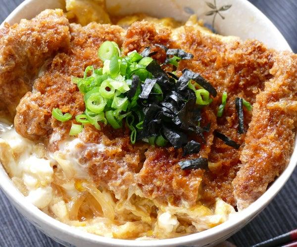 *Katsudon / Japanese Deep Fried Pork Cutlet Rice Bowl