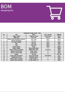 B.O.M. - Shopping List