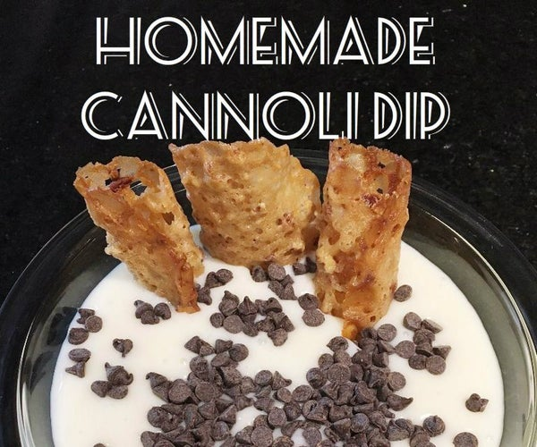 Homemade Cannoli Dip