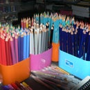 Modify a Pencil Holder to keep all pens and pencils STANDING up.