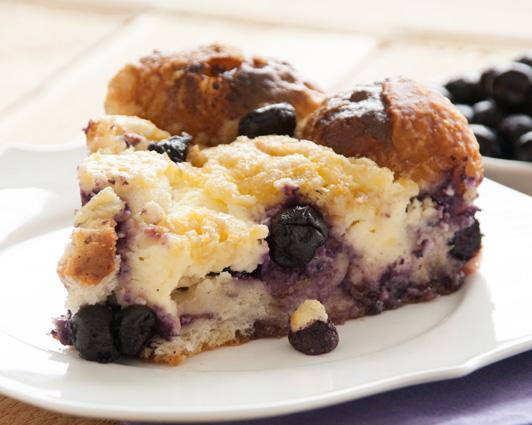 Blueberry Cream Cheese Pull Apart