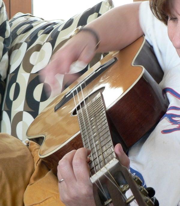 Need a Baritone Ukulele?  Restring a Guitar!