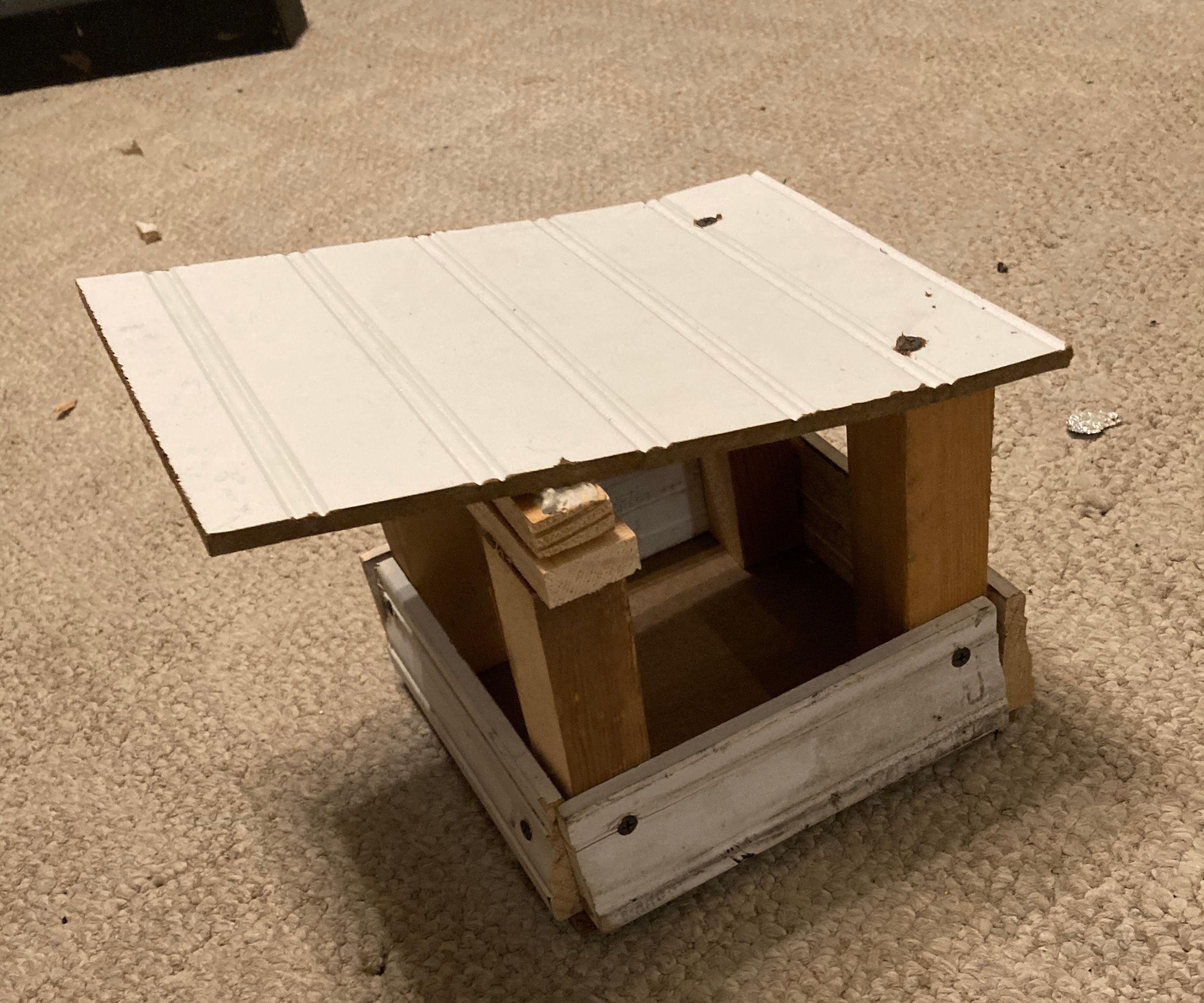 Open Air Birdhouse
