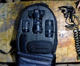 DIY Camera Bag With Foam