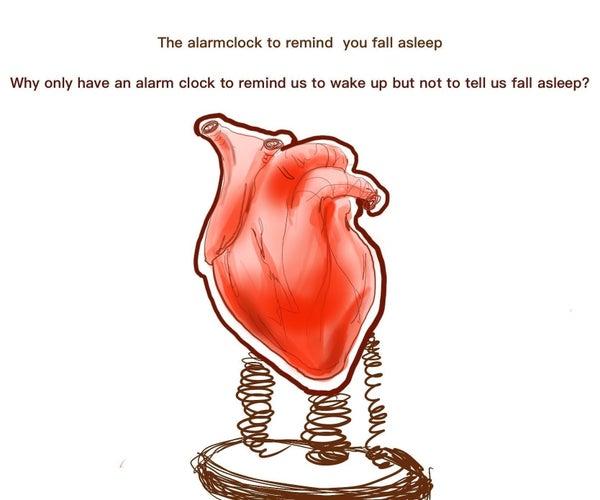 ''Sleep Tight'' Visual Sleeping Alarm O'clock