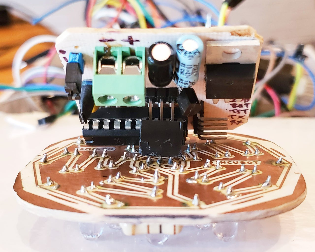 Electrónica Emisor (PCB)