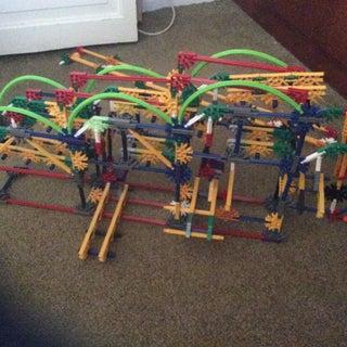 Leapfrog Separator, a Knex Ball Machine Path Separator