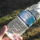 How to purify water in the wild with 2 water bottles.