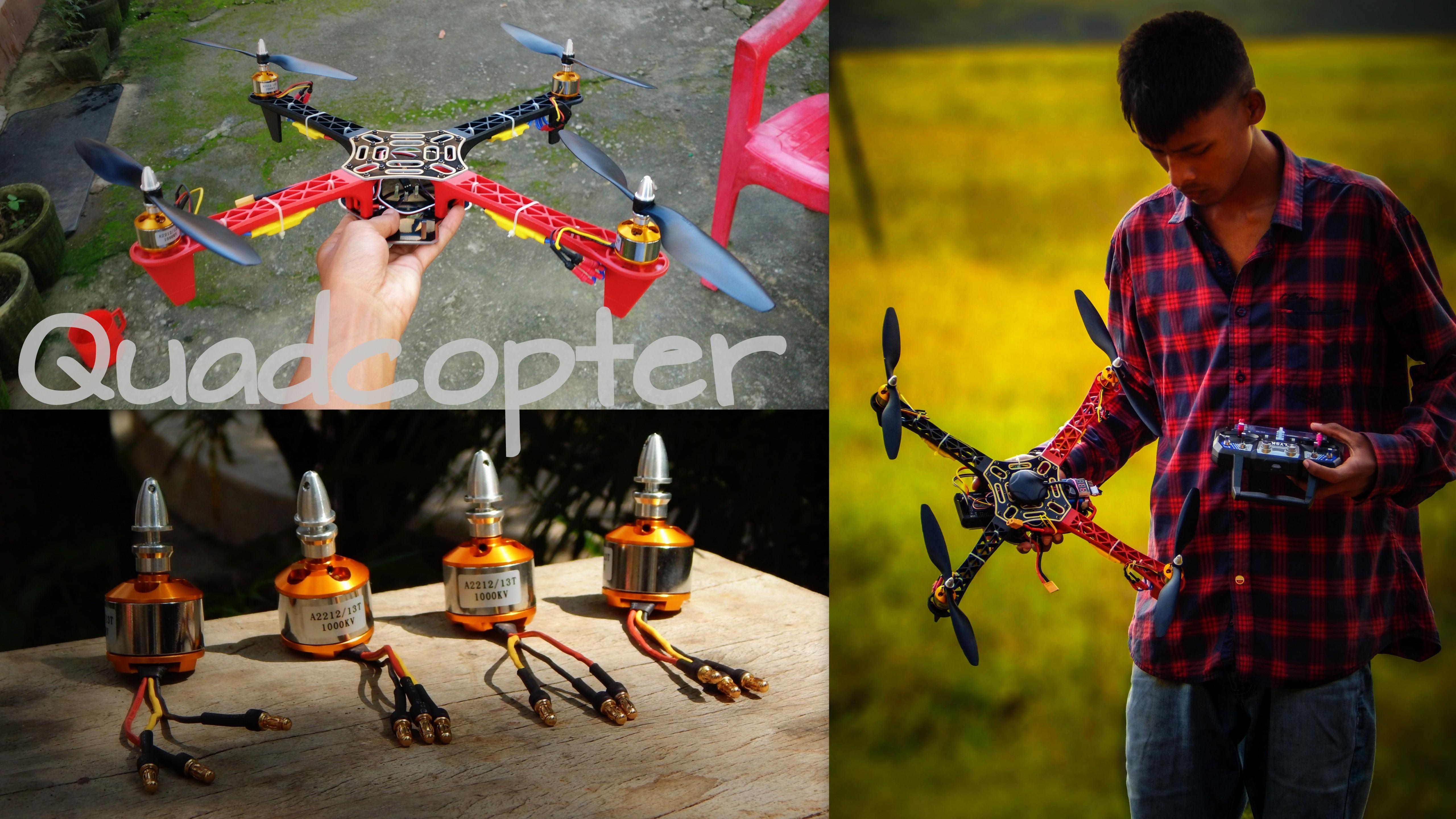 DIY F450 Quadcopter