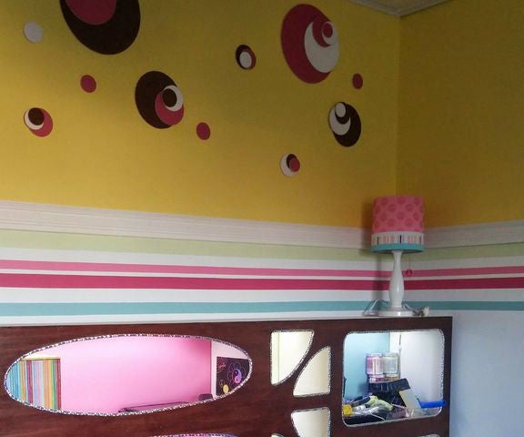 Colorful Room Update